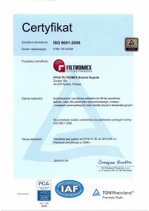 FILTROMEX_15_RA_certyfikat_pl